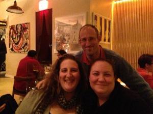 Rachel, Russell, Jen