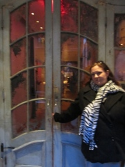 Jen at ABC Kitchen entrance