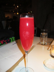Blood Orange Bellinis