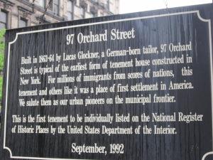 97 Orchard Street