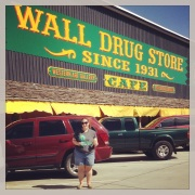 Me at Wall Drugs