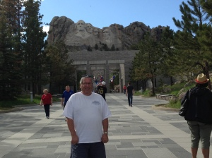 Dad at Mount Rushmore