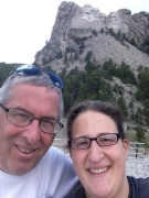 Father and Daughter at Rushmore